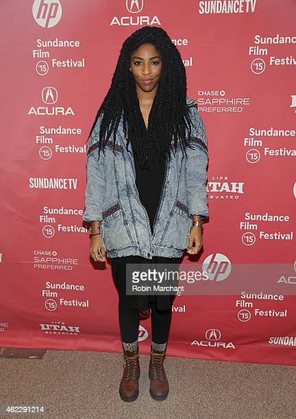 Jessica Williams attends 'People Places Things' Premiere during the 2015 Sundance Film Festival on January 26 2015 in Park City Utah