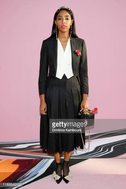 Jessica Williams attends the CFDA Fashion Awards at the Brooklyn Museum of Art on June 03 2019 in New York City