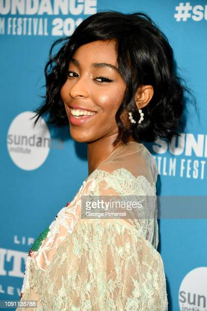 Jessica Williams attends the Corporate Animals Premiere during the 2019 Sundance Film Festival at Eccles Center Theatre on January 29 2019 in Park...