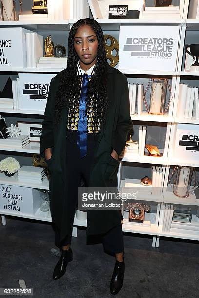 Jessica Williams attends the Creators League Studio At 2017 Sundance Film Festival Day 1 2017 Sundance Film Festival premiere of The Incredible...