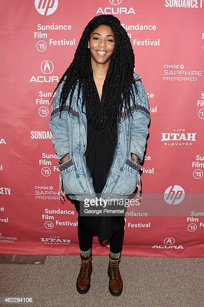 Jessica Williams attends the 'People Places Things' Premiere during the 2015 Sundance Film Festival on January 26 2015 in Park City Utah