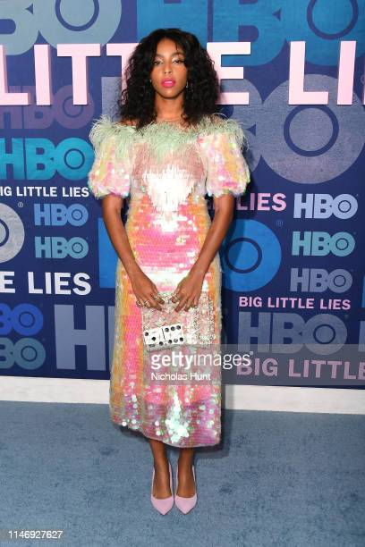 """Jessica Williams attends the season 2 premiere of """"Big Little Lies"""" at Jazz at Lincoln Center on May 29, 2019 in New York City."""