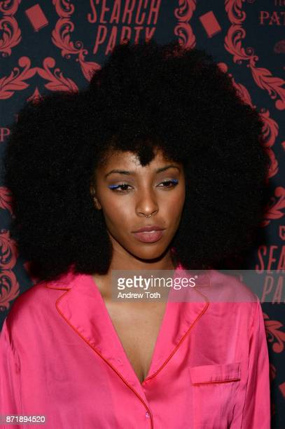 Jessica Williams attends the season 2 premiere of 'Search Party' at Public Arts at Public on November 8 2017 in New York City