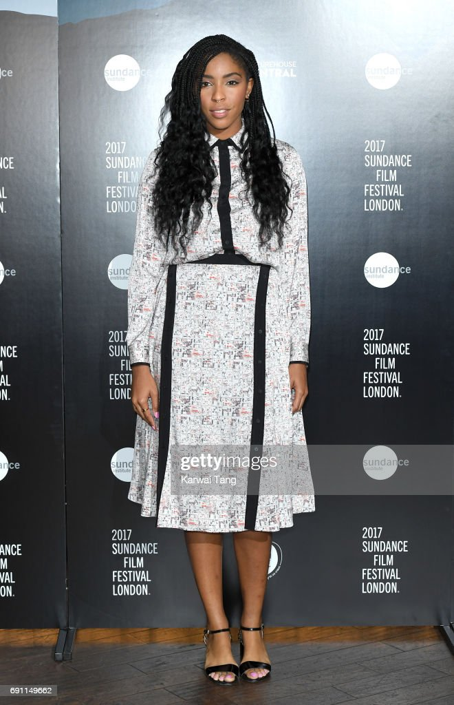 Jessica Williams attends the Sundance London Filmmaker and Press Breakfast at Picturehouse Central on June 1, 2017 in London, England.