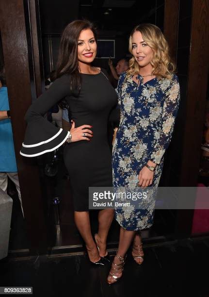 Jessica Wright and Lydia Bright attend Paul Strank Charitable Trust's Summer Party at Mint Leaf on July 5 2017 in London England