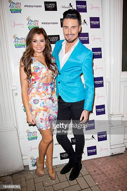 Jessica Wright and Rylan Clark at Funkymojoe to attend the La Mode Academy Charity Catwalk show in aid of Haven House on March 28 2013 in London...