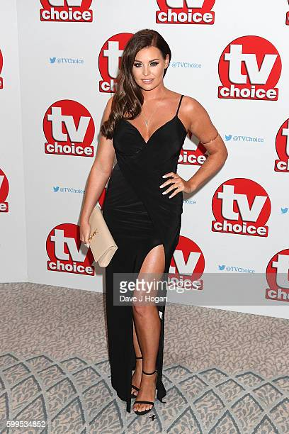 Jessica Wright arrives for the TVChoice Awards at The Dorchester on September 5 2016 in London England