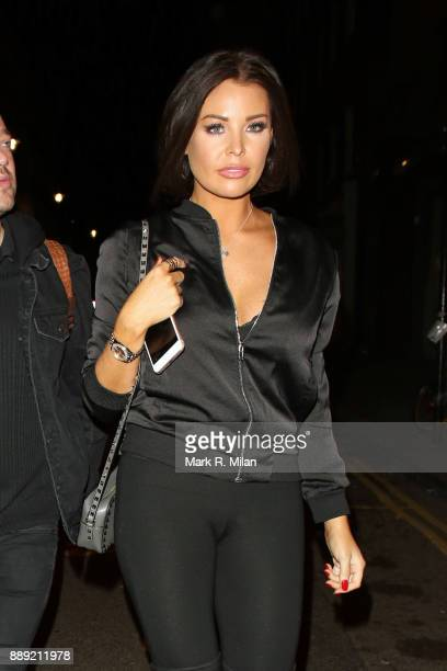 Jessica Wright at Mahiki Mayfair on December 9 2017 in London England