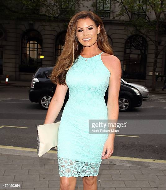 Jessica Wright at the ME hotel for the Michelle Keegan Lipsy clothing launch party on May 7 2015 in London England