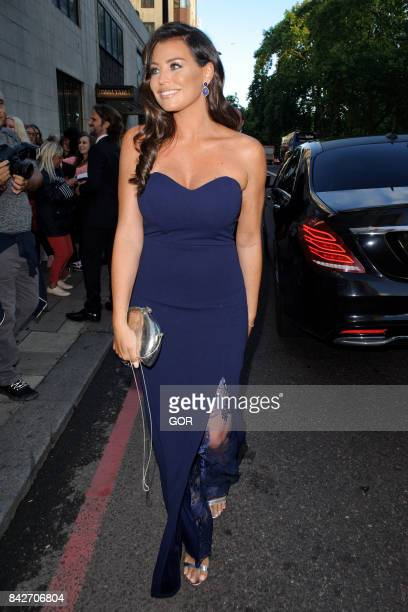 Jessica Wright at the TV Choice awards at the Dorchester hotel on September 4 2017 in London England