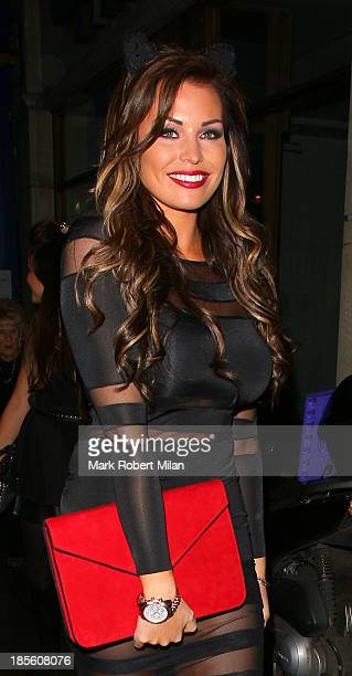 Jessica Wright attending the Claire's Accessories party on October 22 2013 in London England