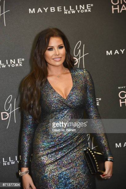 Jessica Wright attends a party hosted by Gigi Hadid to launch her new limitededition Maybelline collection on November 7 2017 in London England