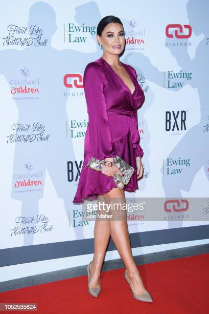 Jessica Wright attends the 2018 Float Like A Butterfly Ball at The Grosvenor House Hotel on October 19 2018 in London England