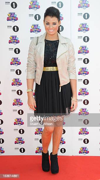 Jessica Wright attends the BBC Radio 1 Teen Awards on October 7 2012 in London England