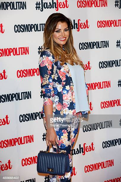 Jessica Wright attends the Cosmopolitan #FashFest event at Battersea Evolution on September 18 2014 in London England