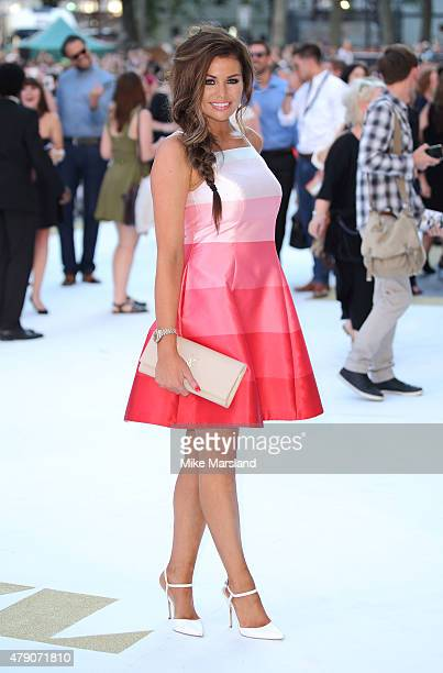 Jessica Wright attends the European Premiere of 'Magic Mike XXL' at Vue West End on June 30 2015 in London England