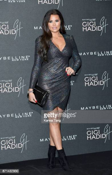 Jessica Wright attends the Gigi Hadid X Maybelline party held at 'Hotel Gigi' on November 7 2017 in London England