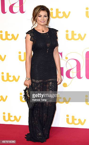 Jessica Wright attends the ITV Gala at London Palladium on November 19 2015 in London England