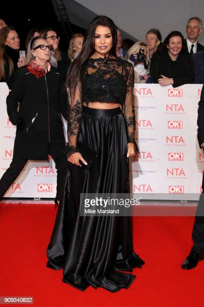 Jessica Wright attends the National Television Awards 2018 at The O2 Arena on January 23 2018 in London England