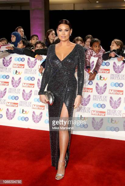 Jessica Wright attends the Pride of Britain Awards 2018 at The Grosvenor House Hotel on October 29 2018 in London England
