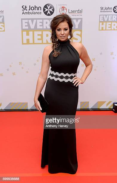Jessica Wright attends the St John Ambulance's Everyday Heroes awards a starstudded celebration of the nation's life savers at the Grange St PaulÕs...