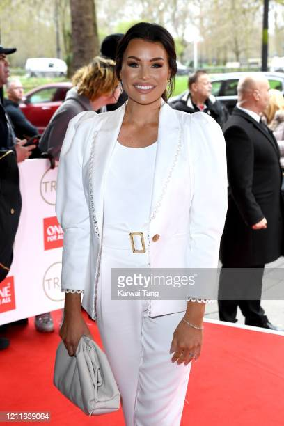 Jessica Wright attends the TRIC Awards 2020 at The Grosvenor House Hotel on March 10 2020 in London England
