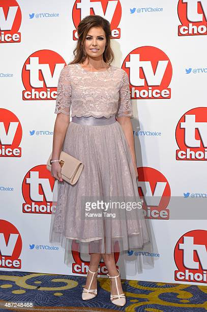 Jessica Wright attends the TV Choice Awards 2015 at Hilton Park Lane on September 7 2015 in London England