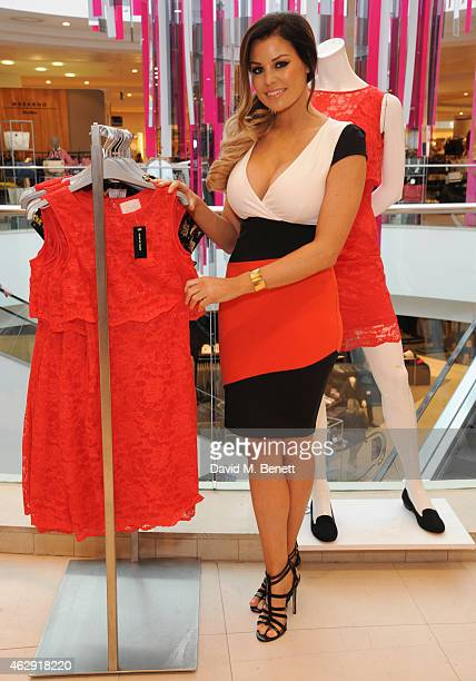 Jessica Wright launches her new exclusive clothing range at House of Fraser department store inspired by her own personal style at Bluewater Shopping...