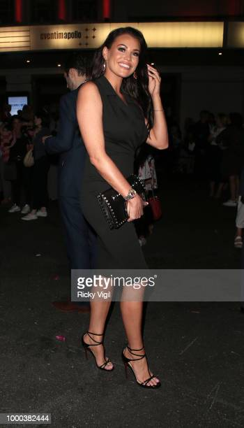 Jessica Wright seen attending Mamma Mia Here We Go Again UK film premiere afterparty at Hammersmith Apollo on July 16 2018 in London England