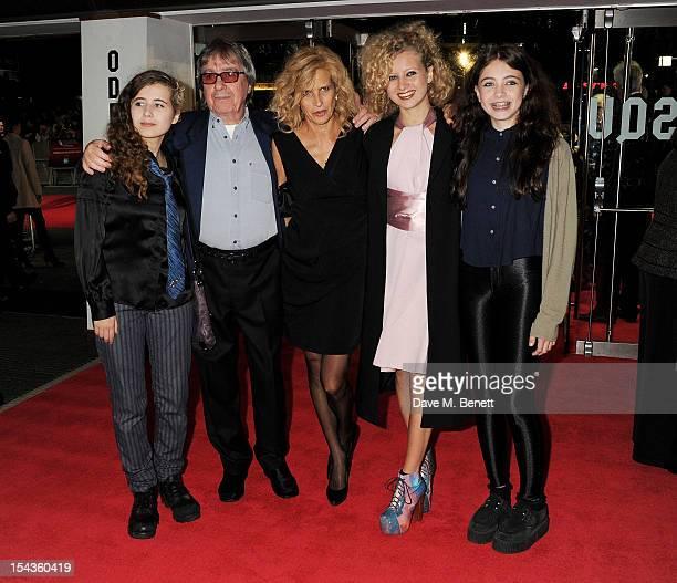 Jessica Wyman Bill Wyman Suzanne Wyman Katherine Wyman and Matilda Wyman attend the Gala Premiere of 'Crossfire Hurricane' during the 56th BFI London...