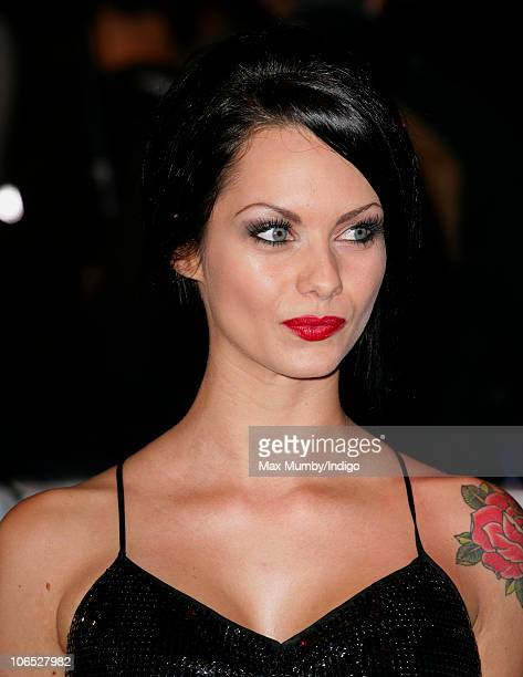 JessicaJane Clement attends the 'Due Date' Premiere at The Empire Cinema Leicester Square on November 3 2010 in London England