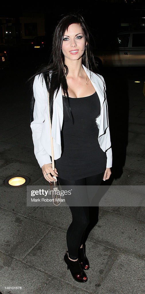 Jessica-Jane Clement seen attending the Hair Awards 2012 at the Sky Bar, Millbank Tower on February 27, 2012 in London, England.
