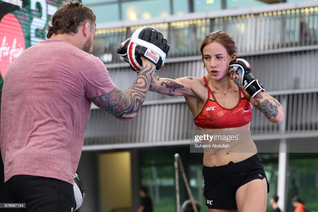 UFC Fight Night Cowboy v Edwards: Open Workouts : News Photo
