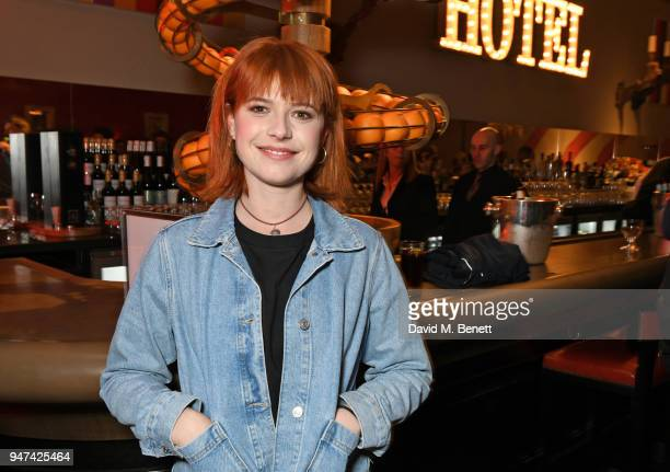 Jessie Buckley attends a special preview screening of 'Beast' at the Ham Yard Hotel on April 16 2018 in London England