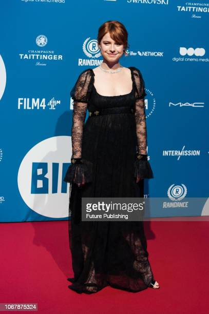Jessie Buckley attends the 21st British Independent Film Awards at Old Billingsgate in the City of London December 02 2018 in London United Kingdom