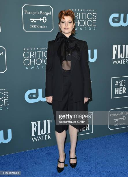 Jessie Buckley attends the 25th Annual Critics' Choice Awards at Barker Hangar on January 12 2020 in Santa Monica California
