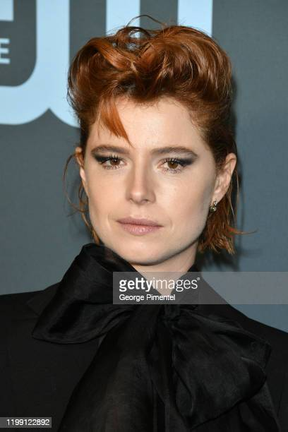Jessie Buckley attends the 25th Annual Critics' Choice Awards held at Barker Hangar on January 12 2020 in Santa Monica California