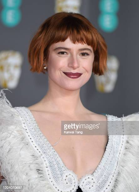 Jessie Buckley attends the EE British Academy Film Awards 2020 at Royal Albert Hall on February 02 2020 in London England