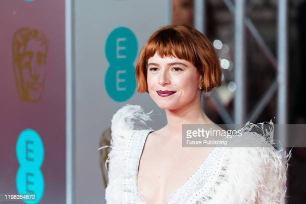 Jessie Buckley attends the EE British Academy Film Awards ceremony at the Royal Albert Hall on 02 February 2020 in London England PHOTOGRAPH BY...