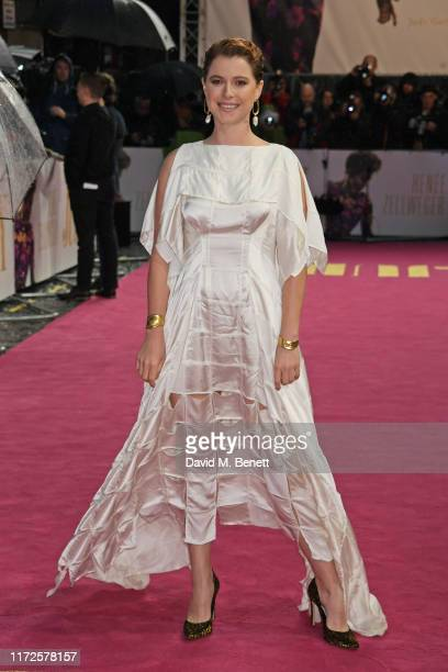 Jessie Buckley attends the European Premiere of Judy at The Curzon Mayfair on September 30 2019 in London England