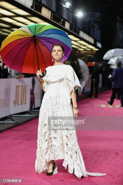 Jessie Buckley attends the Judy European Premiere at The Curzon Mayfair on September 30 2019 in London England