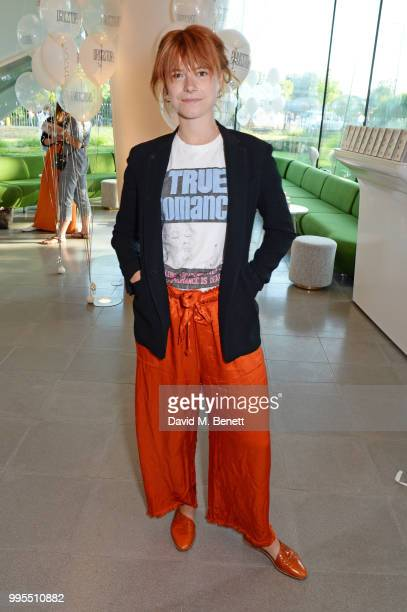 Jessie Buckley attends the launch party for the inaugural Issue of Drugstore Culture at Chucs Serpentine on July 10 2018 in London England