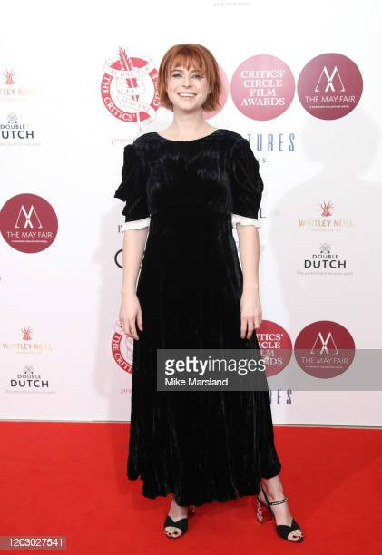 Jessie Buckley attends the London Critics' Circle Film Awards 2020 at The May Fair Hotel on January 30 2020 in London England