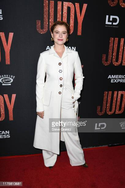 Jessie Buckley attends the LA premiere of Roadside Attraction's Judy at Samuel Goldwyn Theater on September 19 2019 in Beverly Hills California