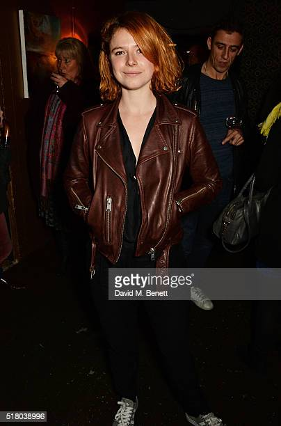 Jessie Buckley attends the press night performance of Bug at Found111 on March 29 2016 in London England