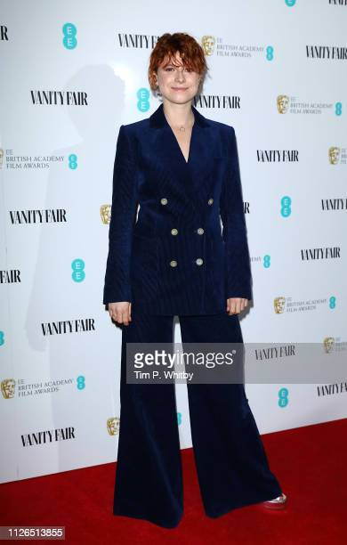 Jessie Buckley attends the Vanity Fair EE Rising Star Party at The Baptist at L'oscar Hotel on January 31 2019 in London England
