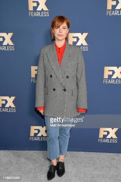 Jessie Buckley of 'Fargo' attends the FX Networks' Star Walk Winter Press Tour 2020 at The Langham Huntington Pasadena on January 09 2020 in Pasadena...