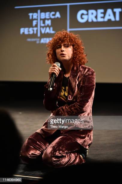 Jessie Buckley performs at the Wild Rose 2019 Tribeca Film Festival at SVA Theater on May 01 2019 in New York City