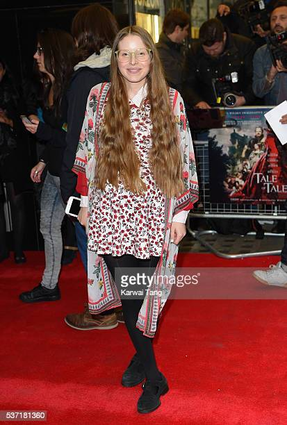 Jessie Cave arrives for the UK Premiere of Tale Of Tales at The Curzon Mayfair on June 1 2016 in London England