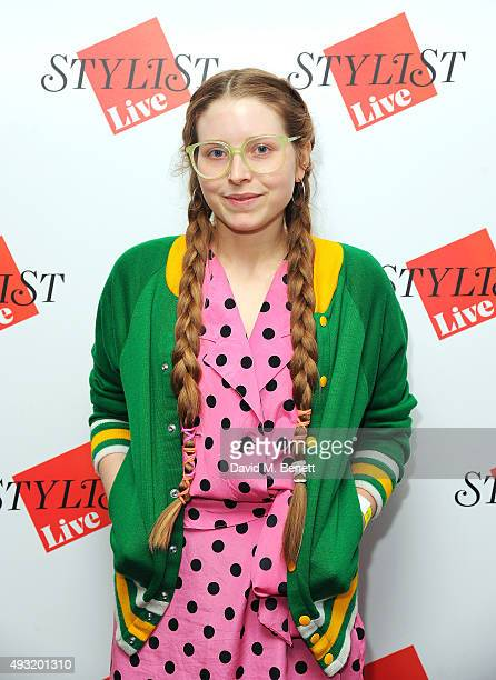 Jessie Cave attends day four of Stylist Magazine's first ever 'Stylist Live' event at the Business Design Centre on October 18 2015 in London England